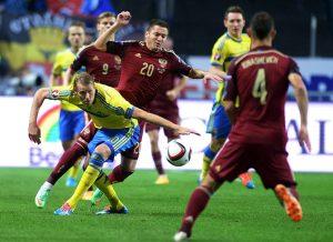Россия - Швеция: прогнозы букмекеров на матч Лиги Наций