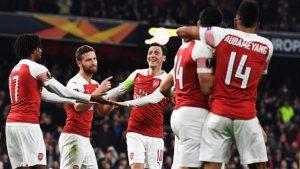 Арсенал – Стандарт: прогноз на матч Лиги Европы (03.10.19)